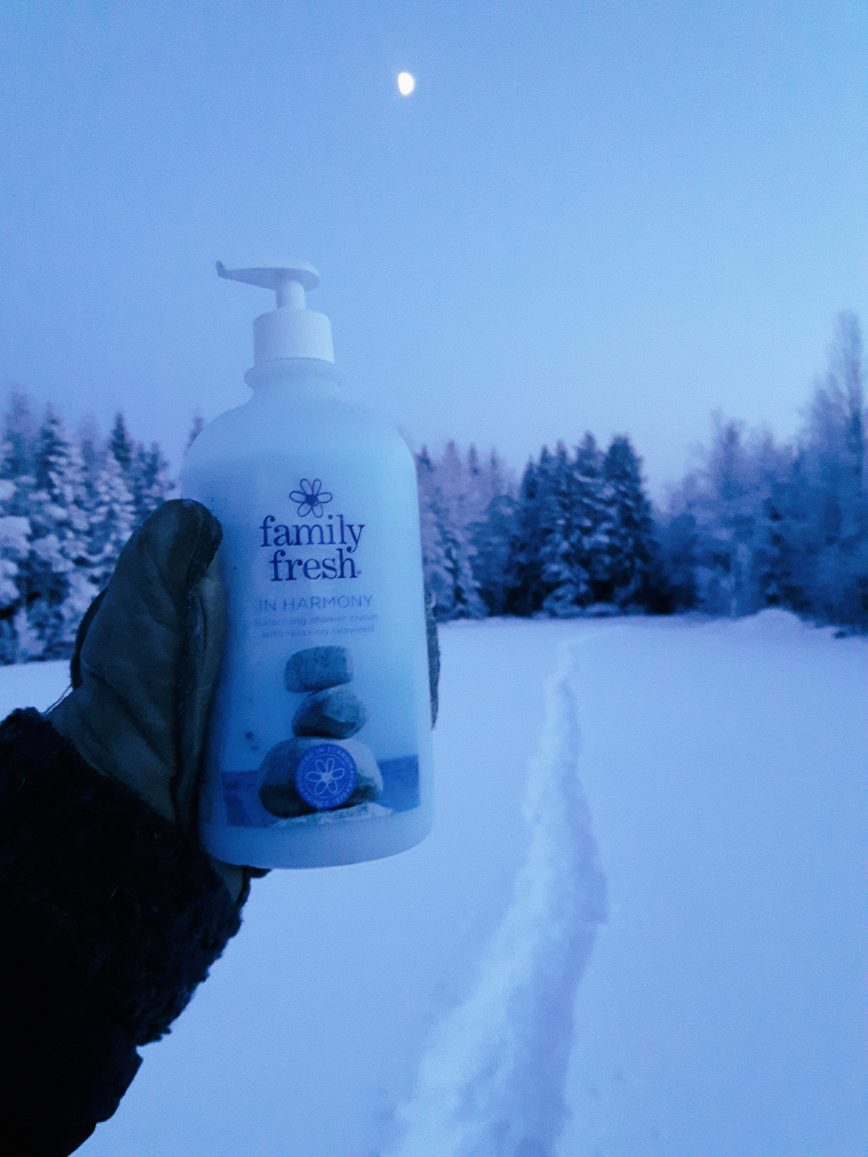 Talvikuvia maaseudulta