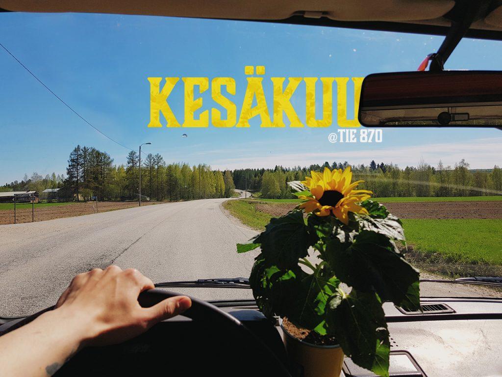 volkswagen-t3-auringonkukka-sunflower-yellow-keltainen-maantie-sotkamo-tie-kuva-tuhkakyla-jormasentie-asfaltti-kylatie-ratti-870