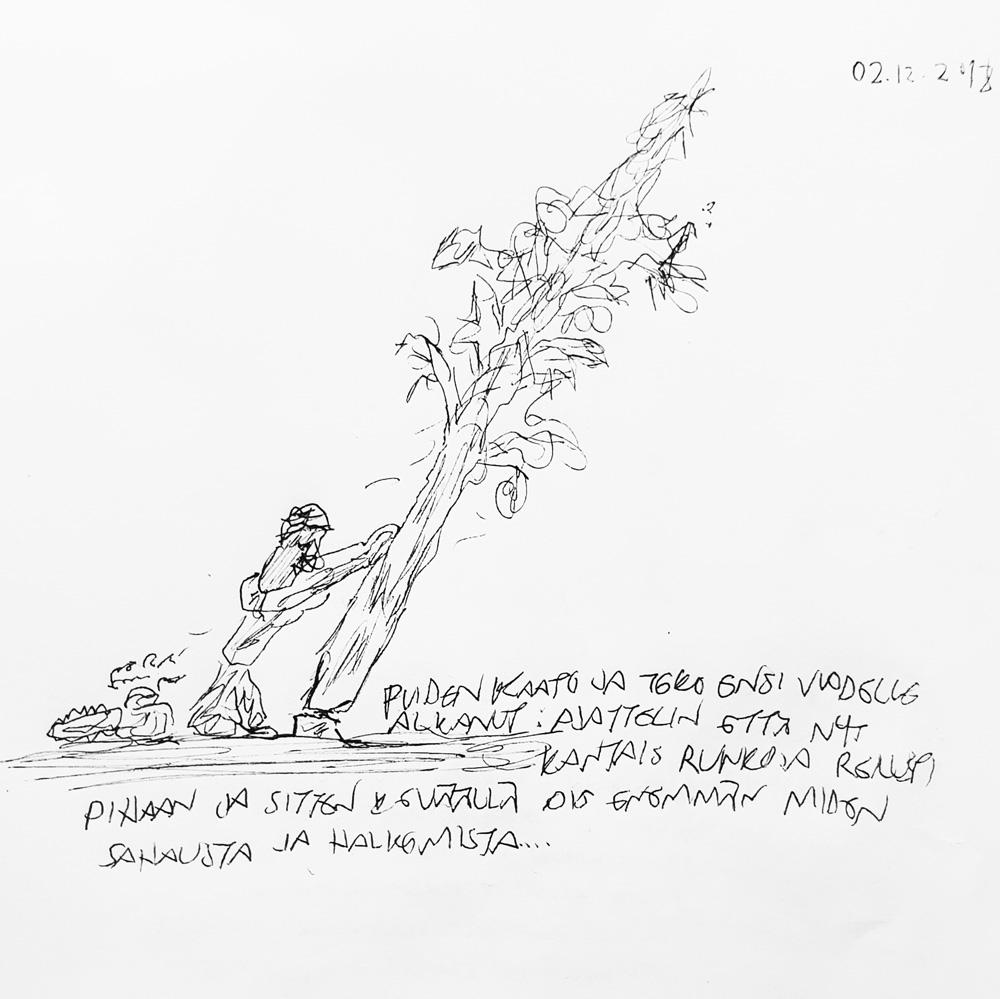 muistkirjasta-poiminta-kirjoitettu-puunkaato