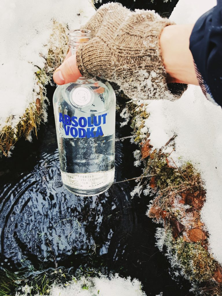 absolut-vodka-glass-bottle-spring-water-stream-pure-finland